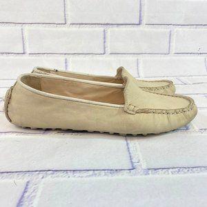 Cole Haan Grand OS loafer slip on tan biege shoe